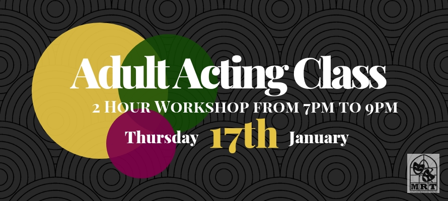 Adult Acting Class (Beginners)